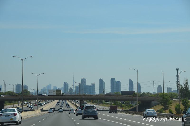 Toronto approche