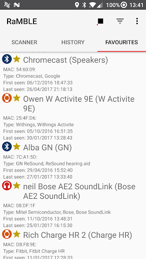 RaMBLE screenshot 3
