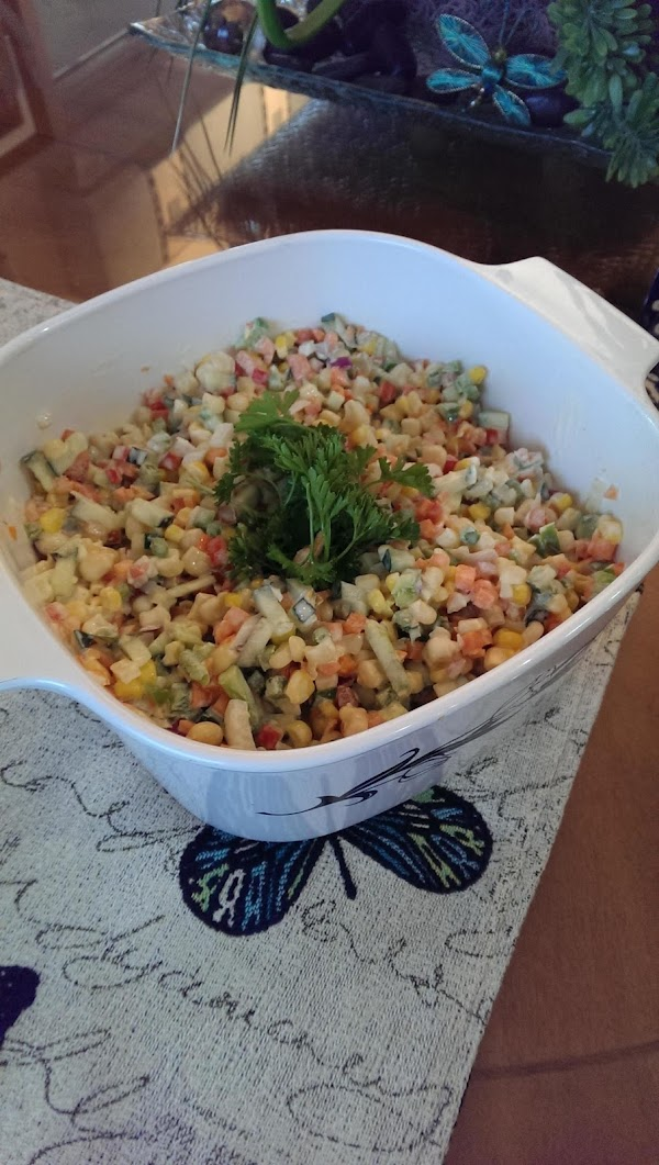 Corn Slaw Salad Recipe