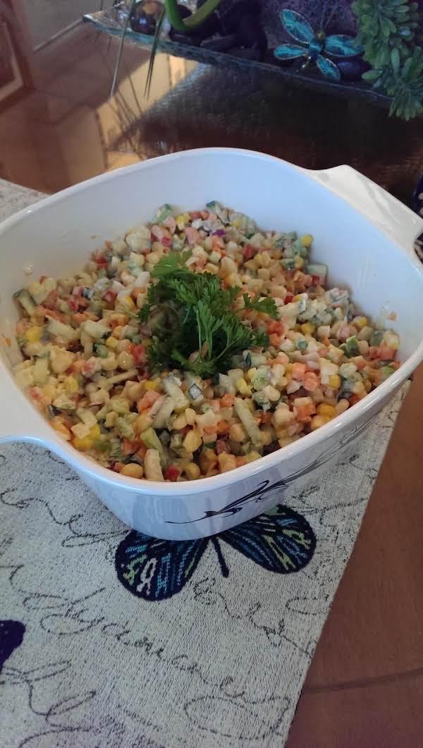 Corn Slaw Salad Recipe