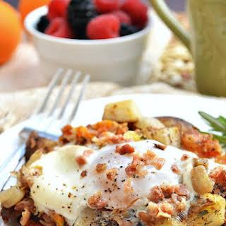 Rosemary Butternut Squash and Potato Hash.