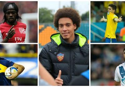 Overzicht van de spelers die van Europese topclubs naar China vertrokken