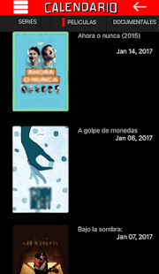 Calendario Netflix- screenshot thumbnail