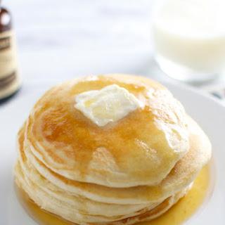 Homemade Vanilla Pancakes