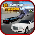3D Limo Car Transporter : Air icon