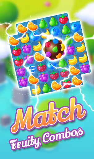 Code Triche Fruity Garden – Fruit Match 3 Sliding Puzzle apk mod screenshots 2