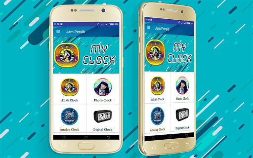 Persib Wallpaper Clock Live app (apk) free download for Android/PC/Windows screenshot