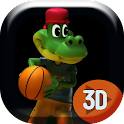 Basketball Aligator Live Wallp icon