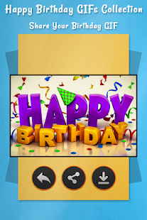 Happy Birthday GIFs Collection - náhled