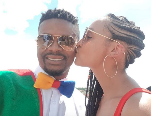 Kagiso Modupe to his wifey: I love you my rib, my comfort, my home