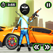 Real Stickman Grand Gangster