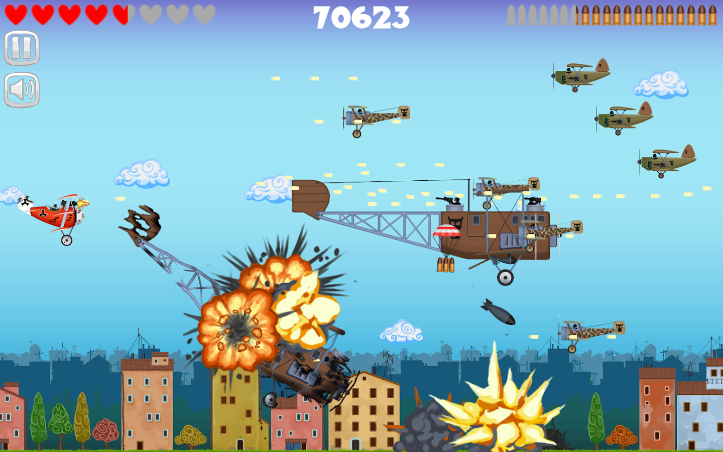 red baron online game