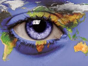 Photo: eye on the world
