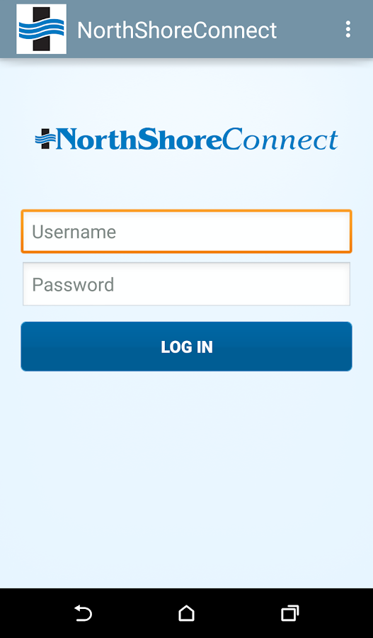 NorthShoreConnect- screenshot