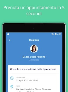 Dottori.it - Prenota la visita- screenshot thumbnail
