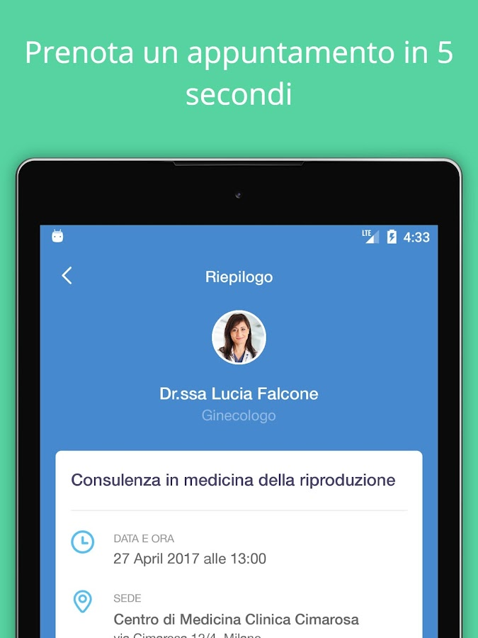 Dottori.it - Prenota la visita- screenshot