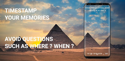 Timestamp - GPS Camera PRO app (apk) free download for Android/PC/Windows screenshot