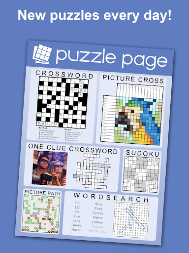 Puzzle Page - Crossword, Sudoku, Picross and more screenshots 13