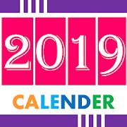 English Calendar 2019
