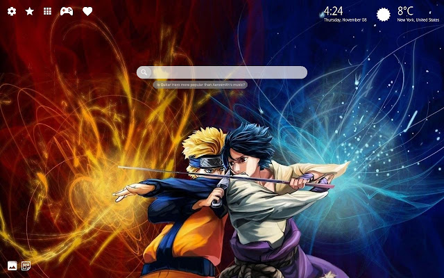 Naruto Live Hd Wallpaper New Tab Backgrounds