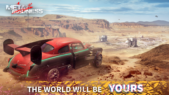 METAL MADNESS PvP: Car Shooter & Twisted Action 6