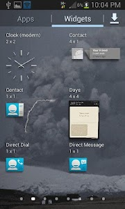 Lighting Cloud Live Wallpaper screenshot 2