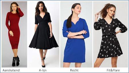 Welke jurk past bij je figuur?