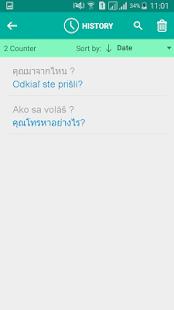 Slovak Thai Translator - náhled