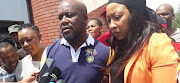 Sihle Tshabalala and Lerato Mnguni, the parents of slain Daveyton toddler Langelihle Mnguni.