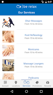 Be Relax - The Airport Spa- screenshot thumbnail