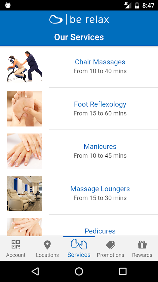 Be Relax - The Airport Spa- screenshot