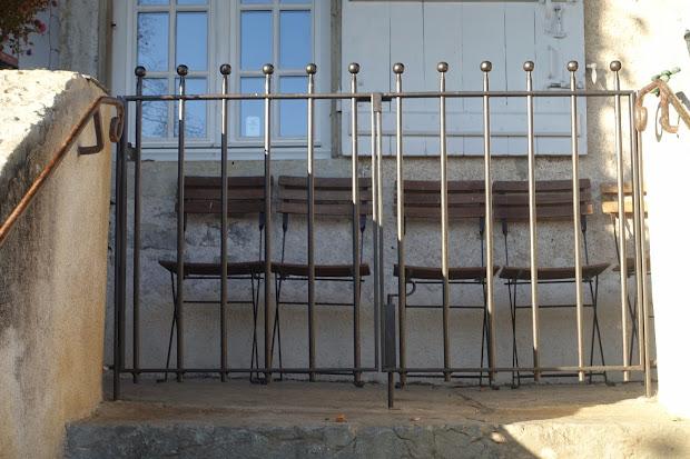 Portail et portillon en fer forg sur mesure for Portillon sur mesure