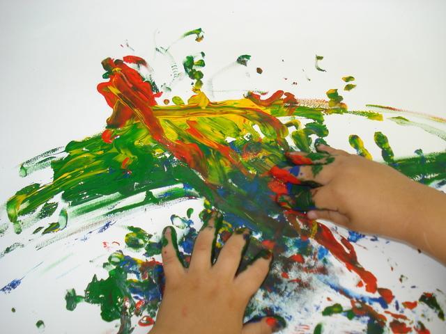 Atividades de Artes Para Educação Infantil com pinturas