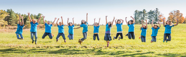 Photo: Jumping for joy that they are helping the kare kits kidz!! October 20, 2013 @ the Doyle Estate. Photography by Mark Doyle.