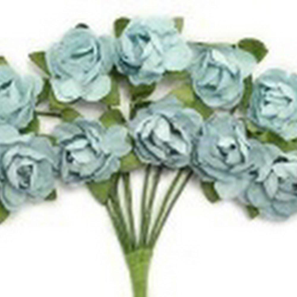 KC-Mini Paper Blooms(Iceberg)
