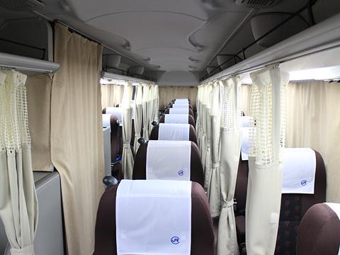 中国JRバス「出雲ドリーム博多号」 641-4957 車内