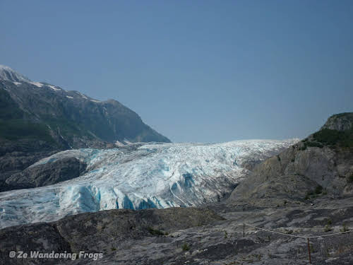 Things to Do in Anchorage Alaska // Kenai Fjords National Park Exit Glacier