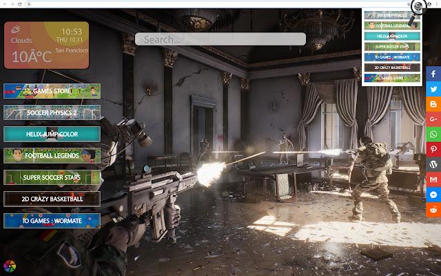 Game Theme - World War 3 Wallpapers