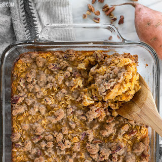 Sweet Potato Casserole Baked Oatmeal