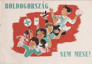 Photo: Petit manuel à l'usage des jeunesses communistes, illustré par Gitta Mallasz