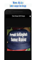 Latest Unique HAT Design - screenshot thumbnail 02