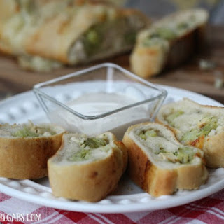 Chicken Broccoli Ranch Stromboli