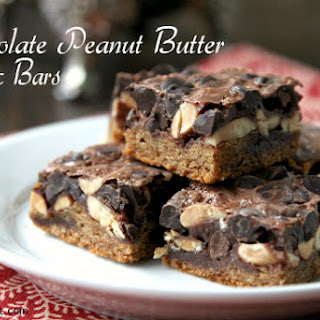 Chocolate Peanut Butter Magic Bars.