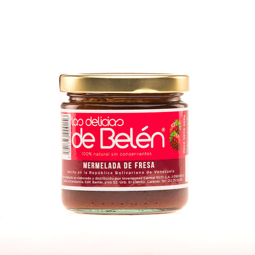 mermelada delicias de belen fresa 200gr