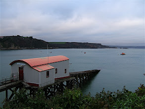 Photo: DSCF4311 - The lifeboat station at Tenby