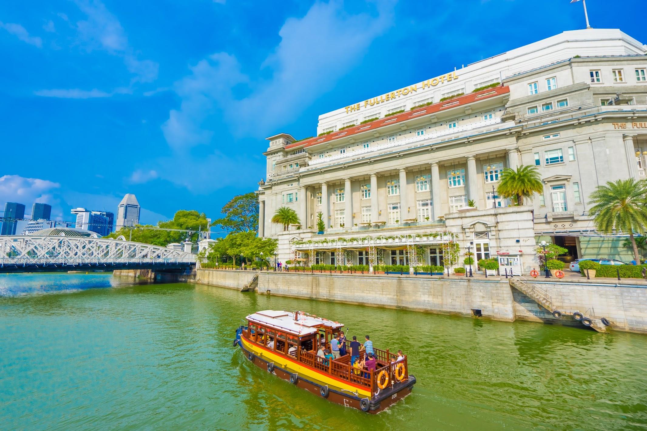 シンガポール フラトン・ホテル リバー・クルーズ1