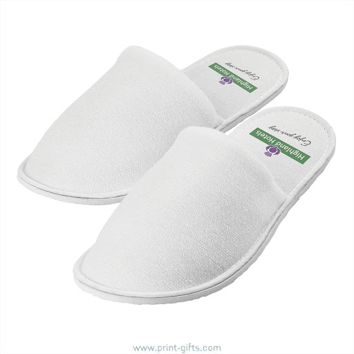 Personalised Hotel & Spa Slippers