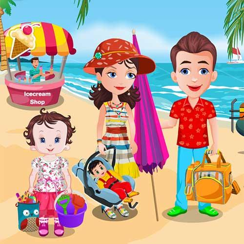 Baby Lisi Beach Party 1.5.5 screenshots 1