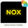 NOX YELLOW Xperia Theme APK icon