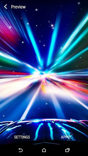 Car In Motion Live Wallpaper Screenshot 4